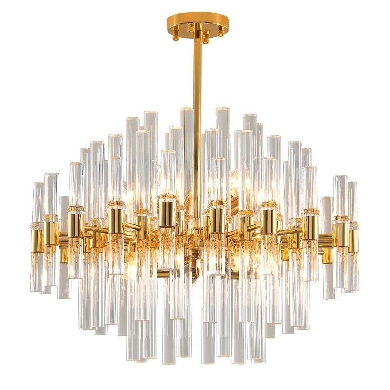 Crystal Tubules Pendant Lamp