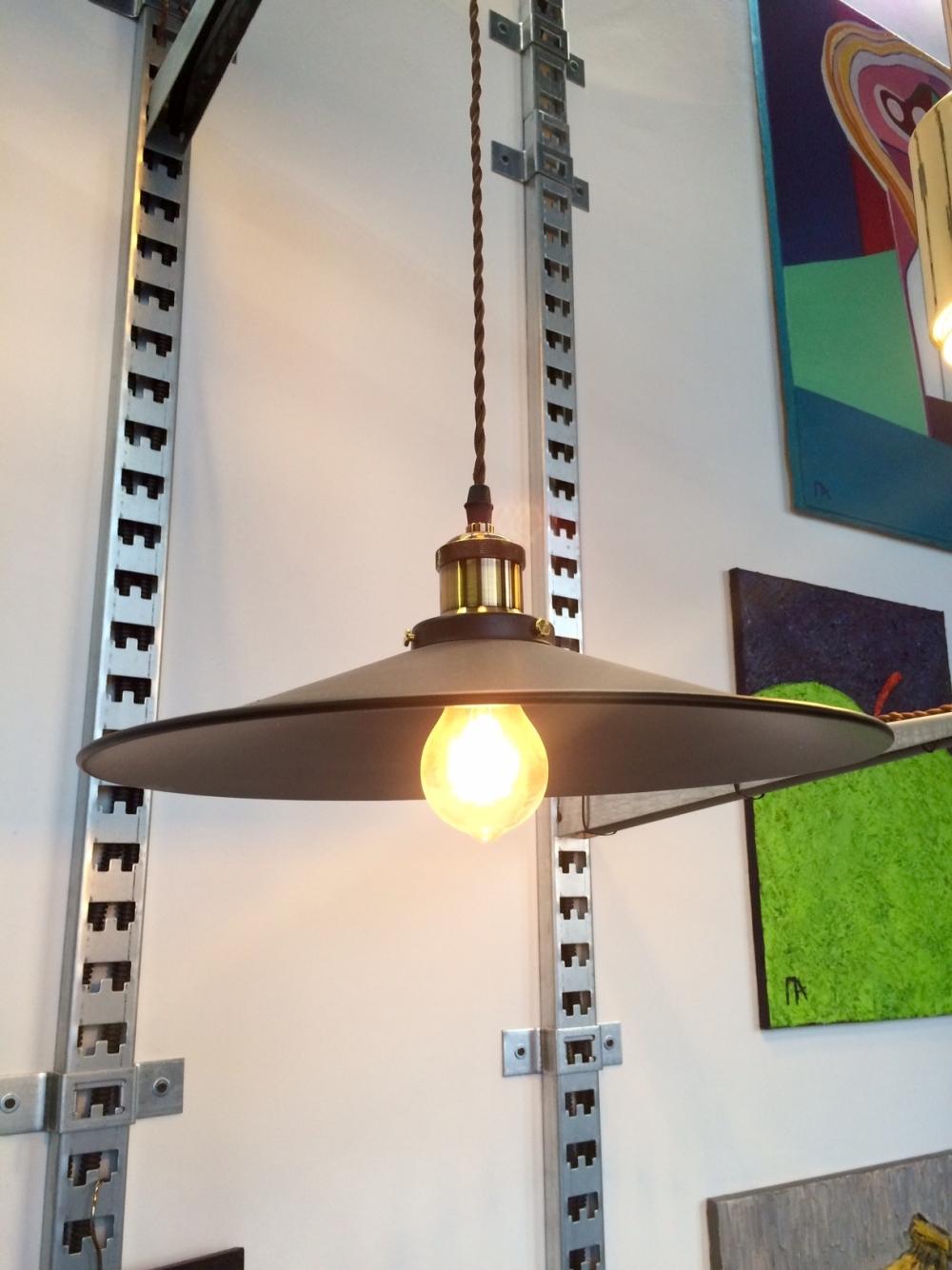 Factory Filament Pendant Light