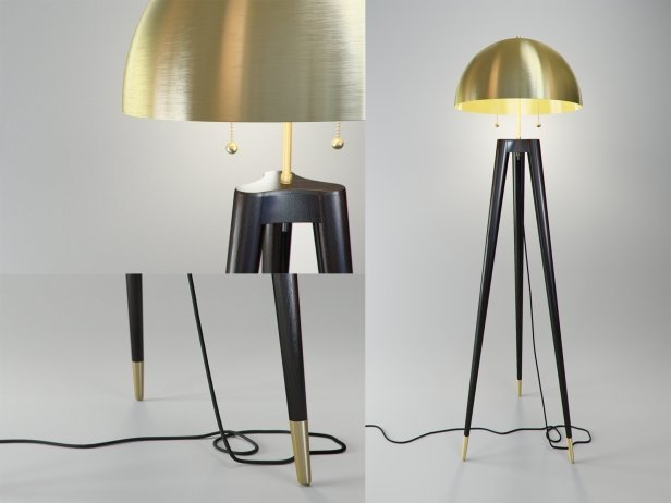Fife Tripod Floor Lamp