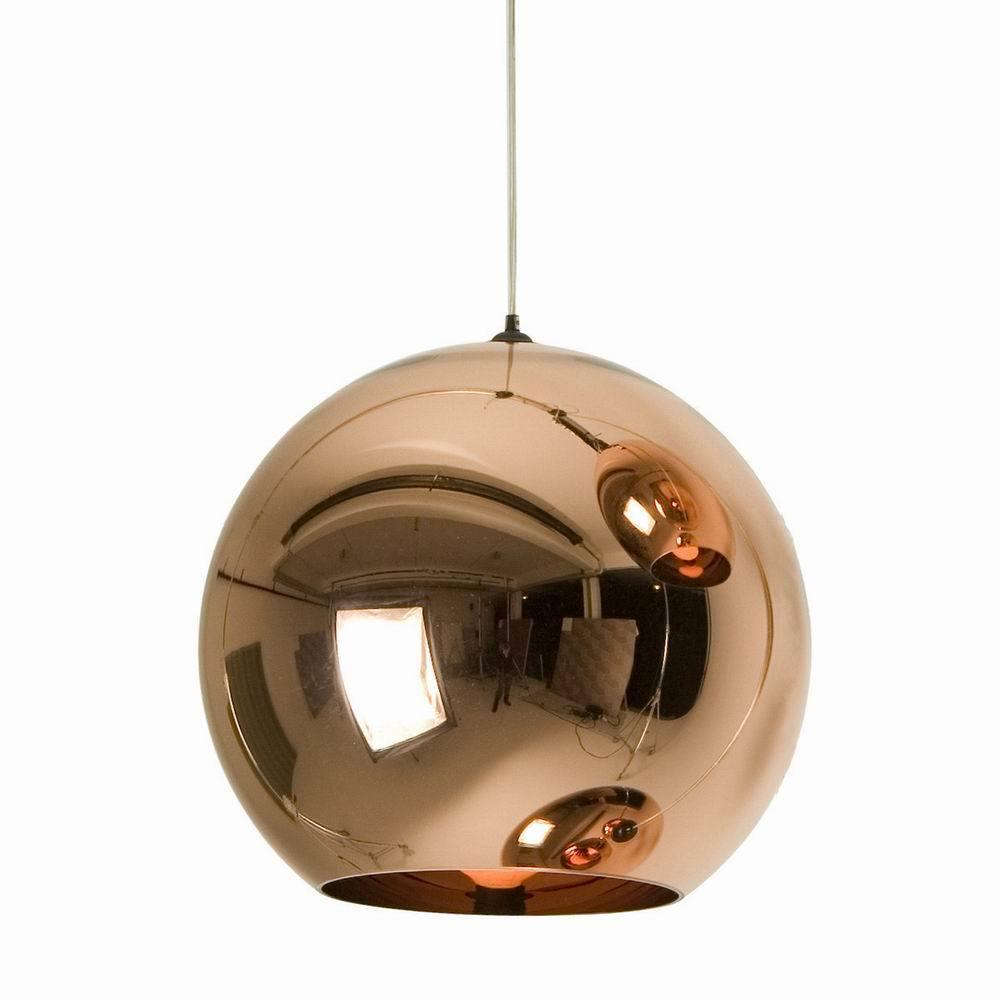 Tom Dixon E Blackbarry : Дизайнерский потолочный светильник copper shade pendant