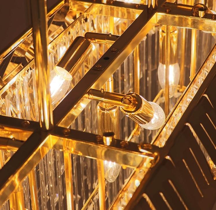 Lebron Square Pendant Lamp