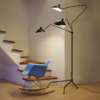 Дизайнерский торшер Serge Mouille 3 Arm Floor Lamp - 3