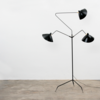 Дизайнерский торшер Serge Mouille 3 Arm Floor Lamp - 2