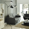 Дизайнерский торшер Serge Mouille 3 Arm Floor Lamp - 4
