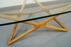 Vintage Geometric Glass Coffee Table - 3
