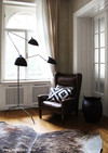 Дизайнерский торшер Serge Mouille 3 Arm Floor Lamp - 1