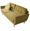 Дизайнерский диван Rucola 3-seater Sofa (with buttons) - 2