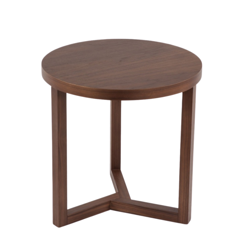 Copeland Walnut Brown End Table