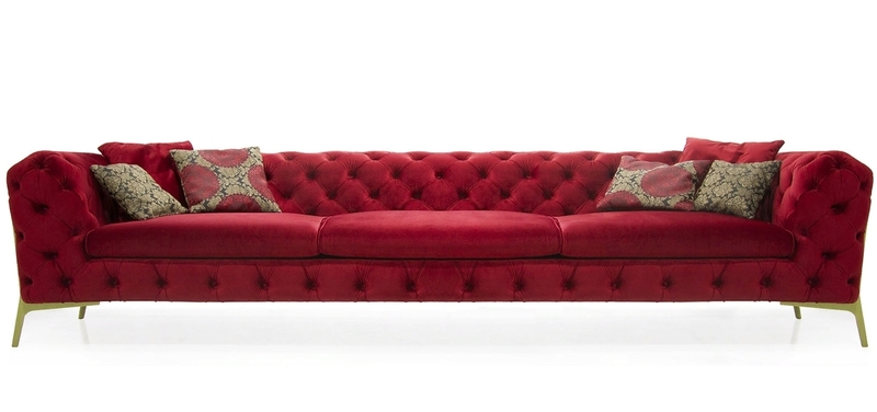 Дизайнерский диван Belle Epoque 3-seater Sofa