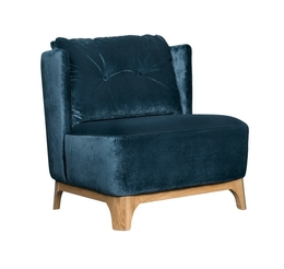 Alma armchair (with buttons)