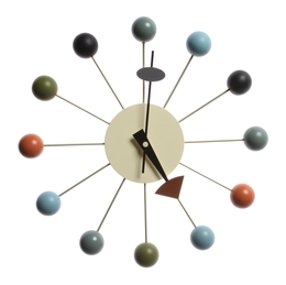 George Nelson Ball Clock Multicolor
