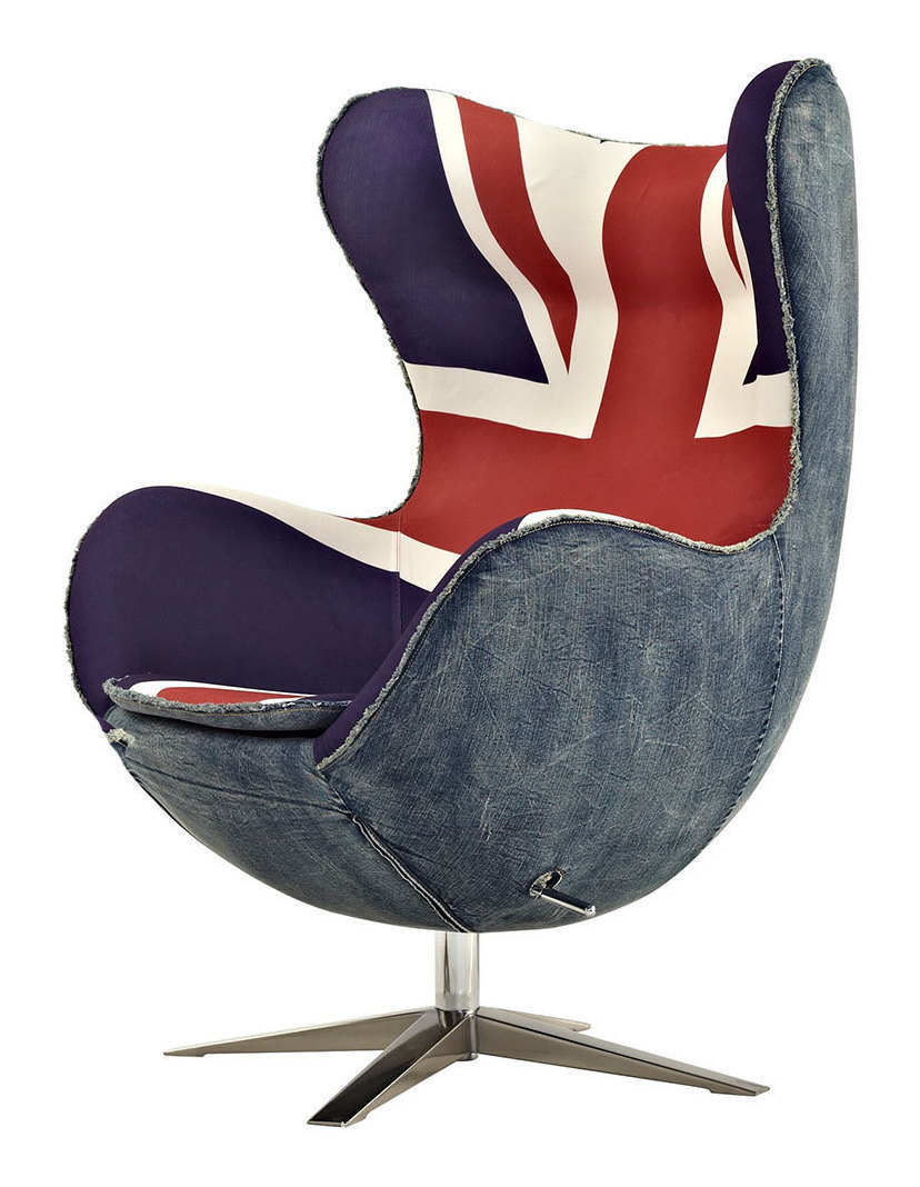 arne jacobsen 39 s 1958 egg chair retrofuturism. Black Bedroom Furniture Sets. Home Design Ideas