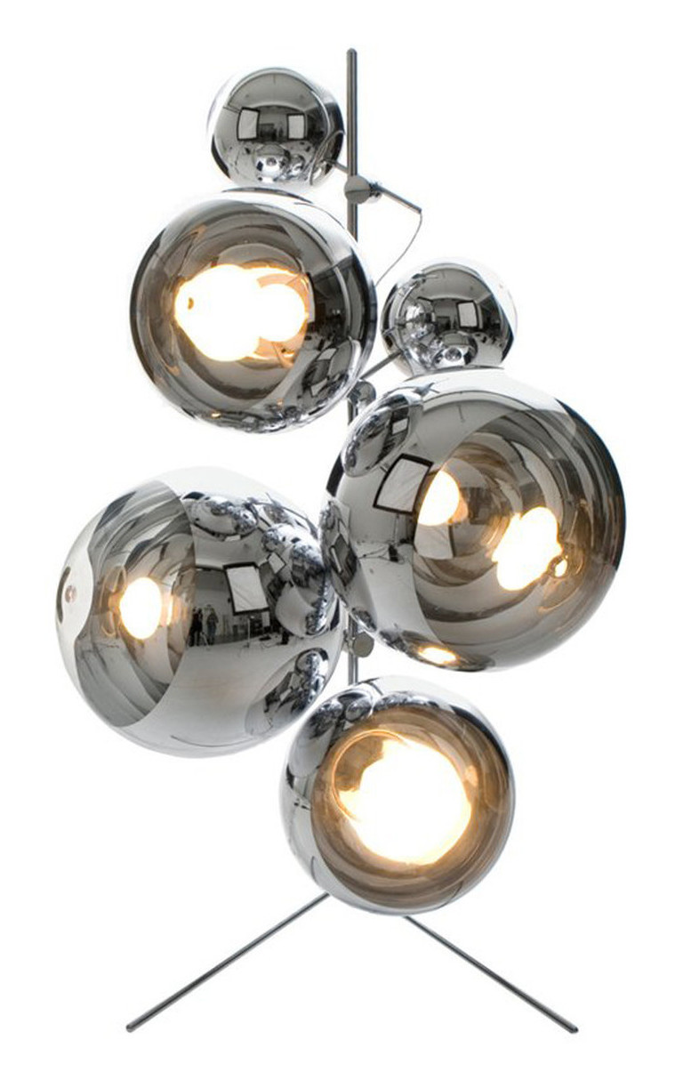 Mirror Ball Floor Lamp