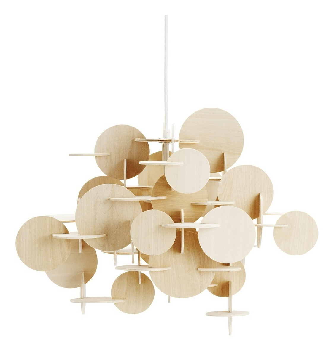 Bau Pendant Lamp (Wooden)