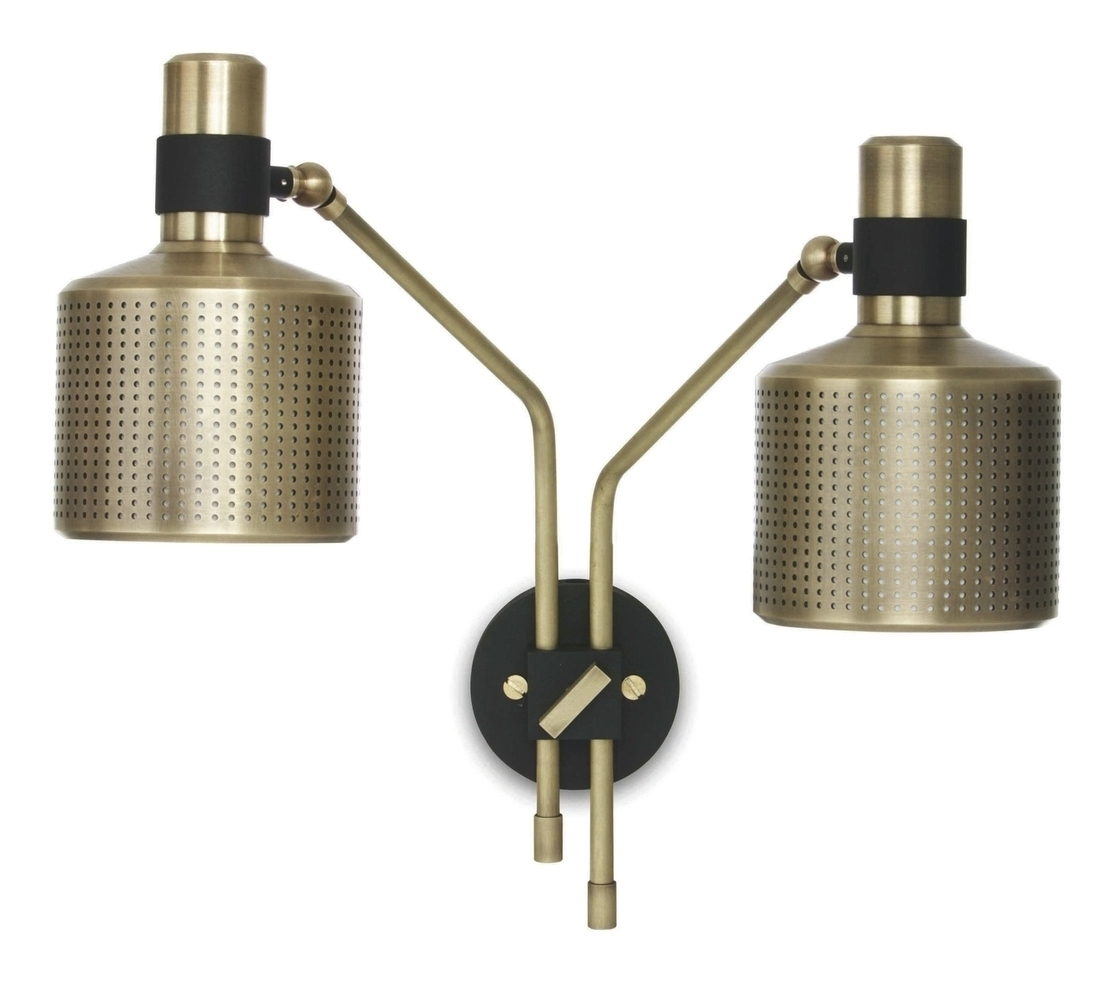Riddle Double Wall Lamp