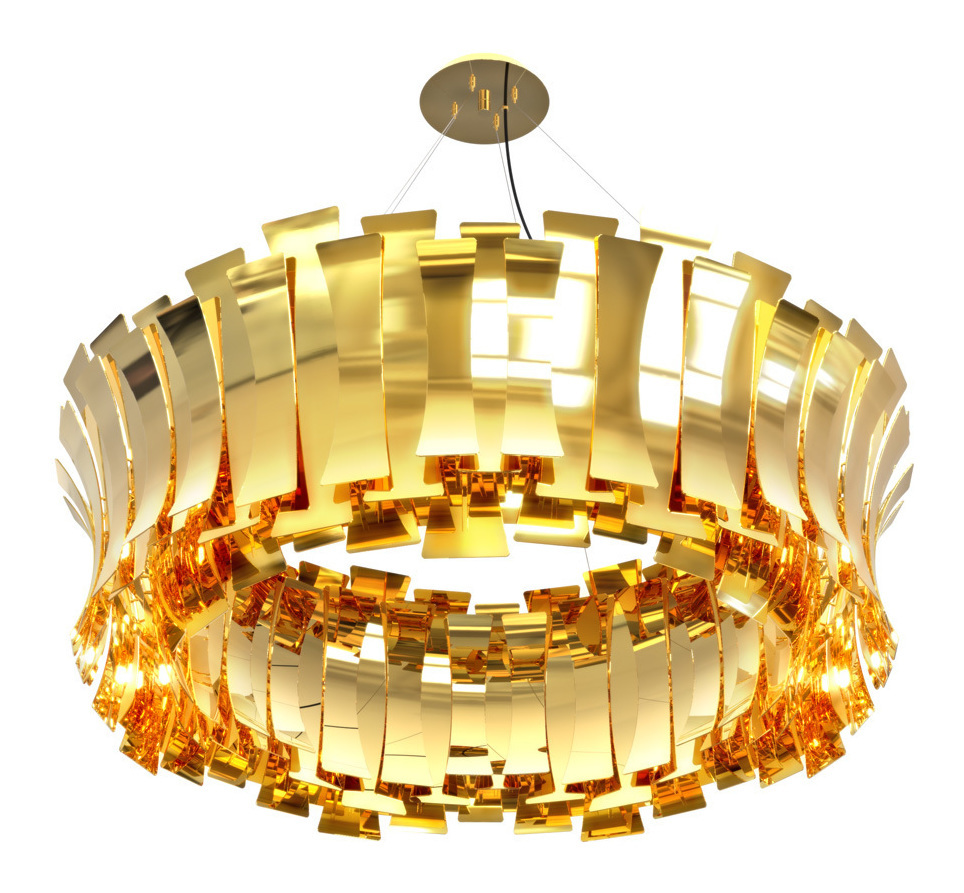 Etta Round Suspension Light