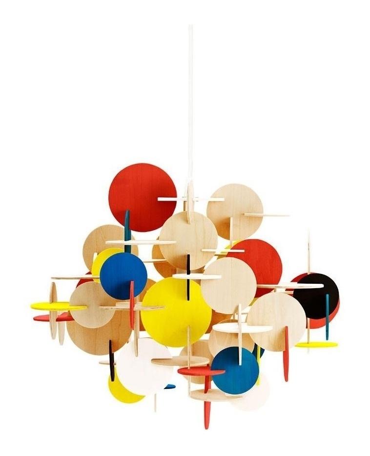 Bau Pendant Lamp (Colorful)