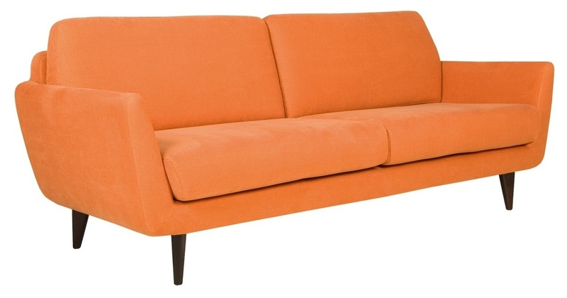 Дизайнерский диван Rucola 3-seater Sofa (without buttons)