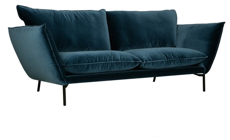 Дизайнерский диван Hugo 3-seater Sofa