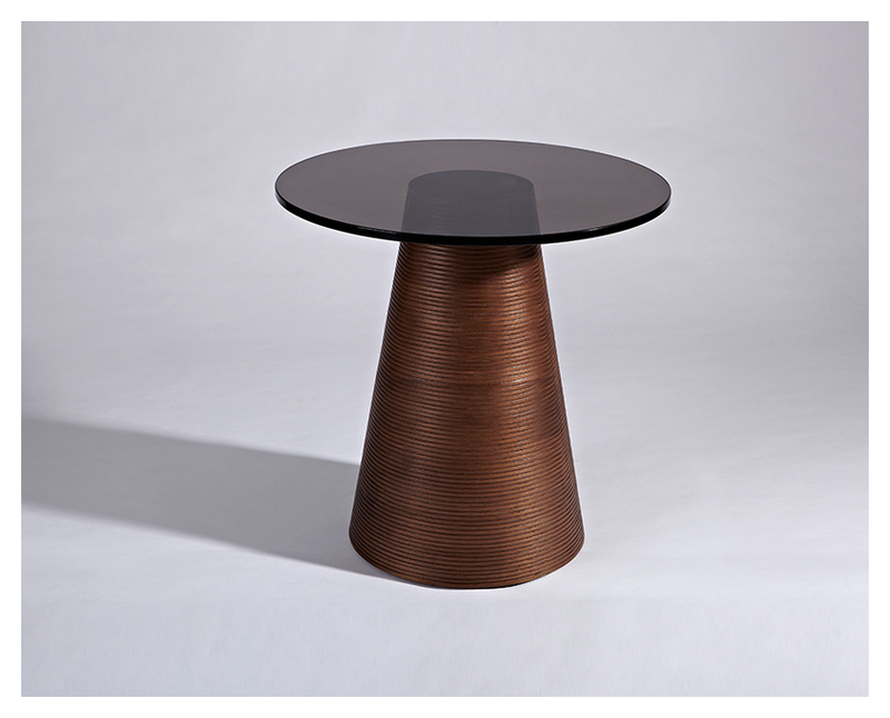 Wide Round Pedestal Table